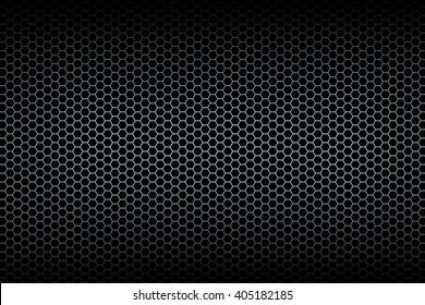 Brushed honeycomb background. Illustration.