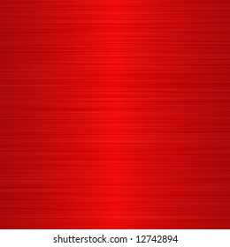 brushed red metallic background with central highlight