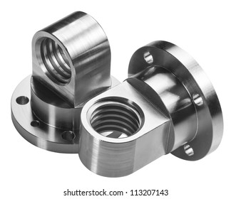 A brushed turning part for industrial use