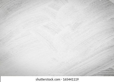 Brushed white wall texture - dirty background