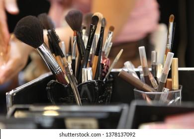 Brushes for make-up artist