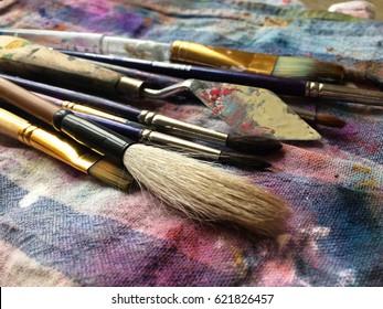 Brushes Multicolored