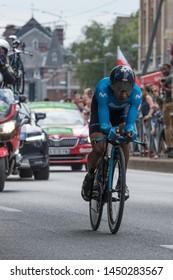 Brussel, België - July 7 2019 : Tour de France Team Time Trial
