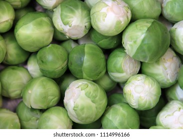Brussel Sprouts prepared for Cooking