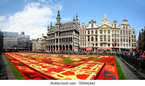 Brussel Turkish flower carpet