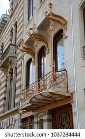 Brussels arquitecture art nouveau