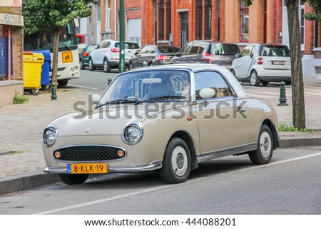 d1a3a6f599 BRUSSELS BELGIUM August 17 2013 Old Stock Photo (Edit Now) 444088201 ...