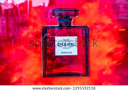 923a0dbb7 Brussels Belgium Jan 20 2019 Chanel Stock Photo (Edit Now ...