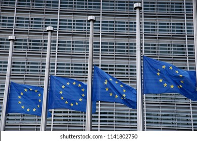Brussels, Belgium - Jul. 25, 2018. 