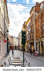 BRUSSELS, BELGIUM - JULY 27, 2017: Architecture of Brussels, the capital of Belgium