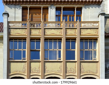 BRUSSELS, BELGIUM - MAY 11: Former Hotel van Eetvelde in Brussels of architect Horta on May 11, 2006. Victor Horta, one of the earliest initiators of Art Nouveau. House is UNESCO World Heritage Site