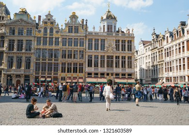 Brussels Belgium May 5 2018 People Stock Photo (Edit Now