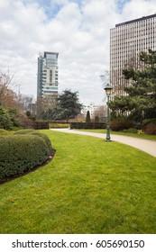 Brussels Belgium park cityscapes