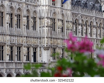 Brussels City Hall architecture detail