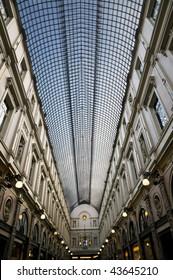 Brussels, Galeries Royales Saint-Huberta