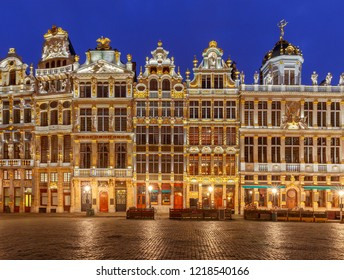Brussels. Grand Place Square.