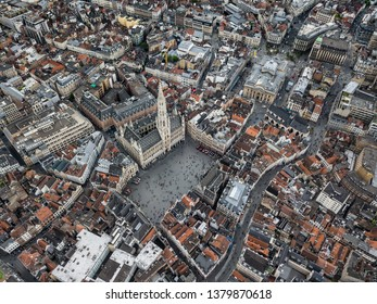 Brussels from the Sky, Belgium