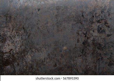 brutal old black metal background shabby in spots, space for text
