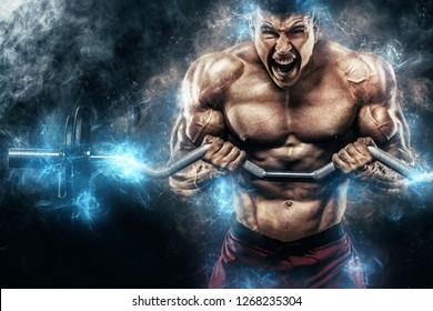 Bodybuilding Images Stock Photos Vectors Shutterstock