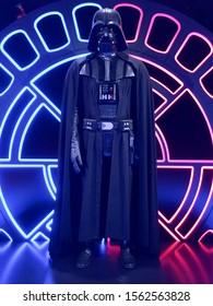 Bruxelles / Belgium - 08 21 2018 : Star Wars Darth Vader costume StarWars