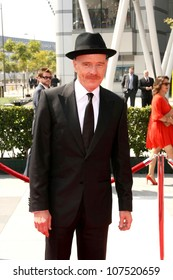 Bryan Cranston  At the 60th Primetime Creative Arts Emmy Awards Red Carpet. Nokia Live Theater, Los Angeles, CA. 09-13-08