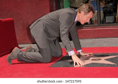 Bryan Cranston at the Bryan Cranston Star on the Hollywood Walk of Fame Ceremony, Hollywood, CA 07-16-13