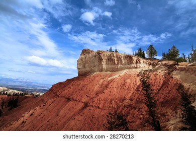 Bryce Canyon National Park with blue skys