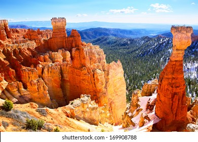 Bryce Canyon National Park landscape, US
