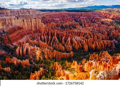 Bryce canyon national park, panorama view