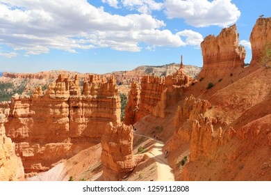Bryce Canyon National Park is a United States National Park in Utah's Canyon Country. The spectacular Bryce Canyon - not actually a canyon, but rather a giant natural amphitheater created by erosion.