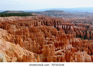 Bryce Canyon National Park, USA, Utah, July 27, 2017, The largest collection of hoodoos in the world