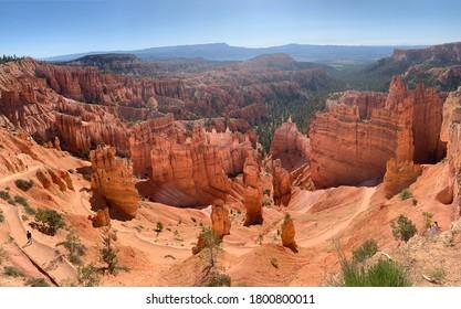 Bryce Canyon National Park, Utah, USA a canyon in south Utah.