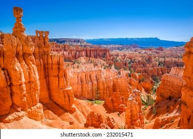 The Bryce Canyon National Park, Utah, United States