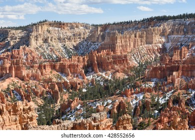 Bryce Canyon National Park; view southeast from the Rim Trail near Sunset Point