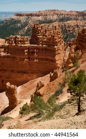 Bryce Canyon rock formations