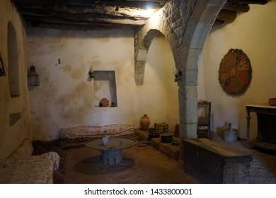 BSHARRI, LEBANON - CIRCA APRIL 2019 Inside Gibran museum