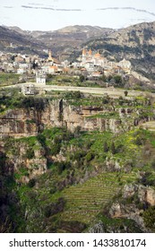 Bsharri and Quadisha valley in Lebanon