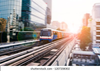 BTS uses the travel speed with speed, Travel by train of the big city