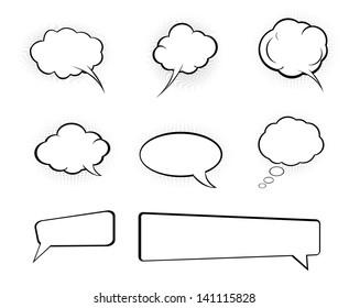 bubble speech cartoon