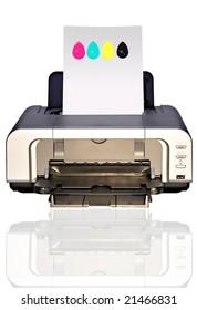 bubble-jet color printer