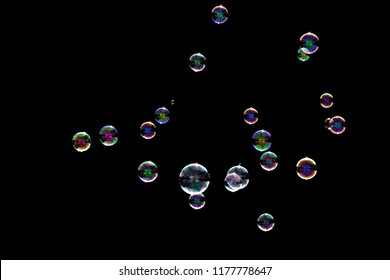 Bubbles Overlays Background