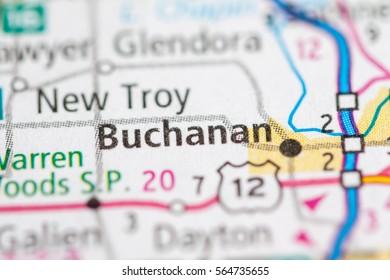 Buchanan Michigan Map.Buchanan Michigan Images Stock Photos Vectors Shutterstock