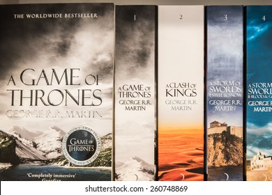 Game Thrones Book High Res Stock Images Shutterstock
