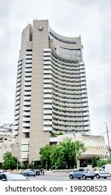 BUCHAREST, ROMANIA - MAY 25, 2014. The Intercontinental Hotel