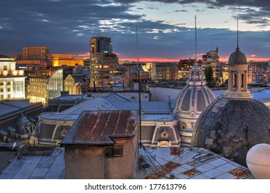 Bucharest's skyline, Romania