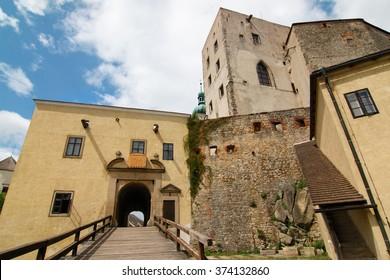 Buchlov castle, Czech republic.
