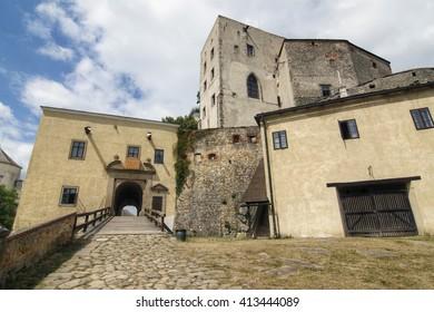 Buchlov castle- famous Gothic castle, Czech republic