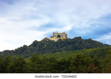Buchlov castle is a royal castle The construction period of this castle is estimated at the first half of the 13th century, photo Czech Republic, Europe