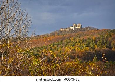 Buchlov castle view Czech Landscape