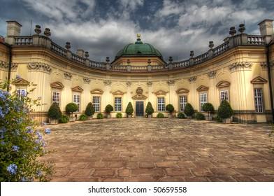 Buchlovice castle in style of Italian baroque